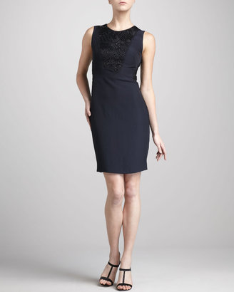 J. Mendel Beaded Sleeveless Dress