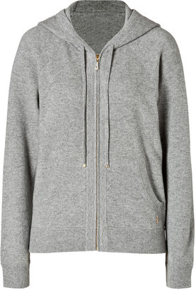 Juicy Couture Cashmere Hoodie in H. Dovetail