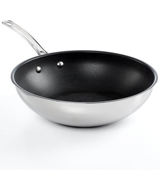 "Circulon Genesis Stainless Steel Nonstick 12.25"" Stir Fry"
