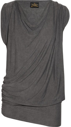 Vivienne Westwood Fortune draped jersey top