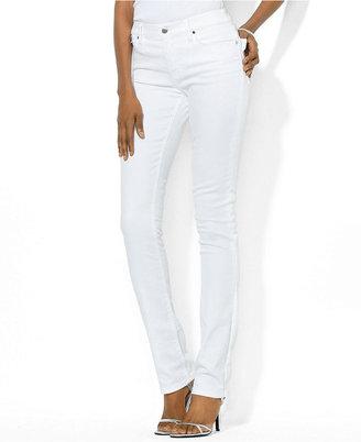 Lauren Ralph Lauren Jeans, Skinny, White Wash