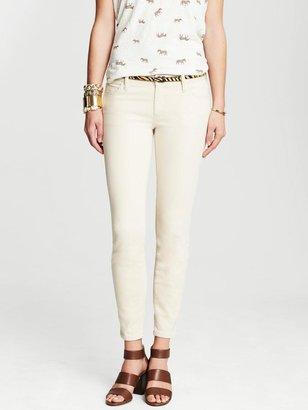 Banana Republic Heritage Cream Skinny Ankle Jean