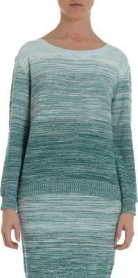 Band Of Outsiders Degrade Ombre Pullover