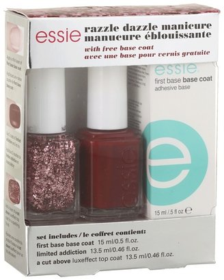 Essie Razzle Dazzle Gift Set (Manicure Red) - Beauty