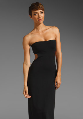 Susana Monaco Easton Strapless Maxi Dress