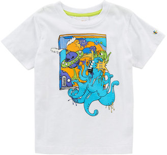 Babies 'R' Us Heidi Klum Truly Scrumptious Boys' Graphic Tee - White (Toddler)