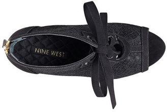 Nine West Enetta Peep-Toe Booties