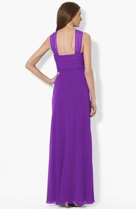 Lauren Ralph Lauren Halter Style Georgette Dress