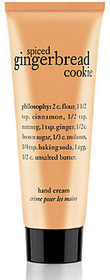 philosophy spiced gingerbread cookie hand cream