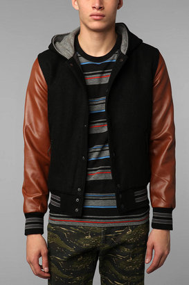 Urban Outfitters The Narrows McCarren Varsity Jacket