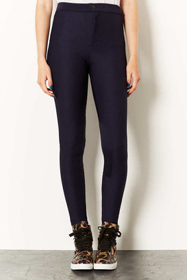 Topshop Ribbed Riding Trousers