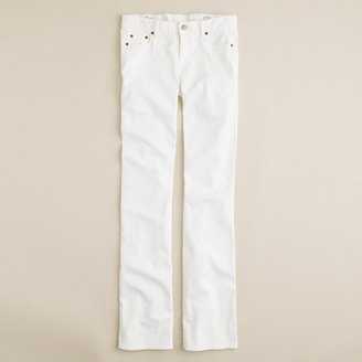 J.Crew New bootcut jean in white denim