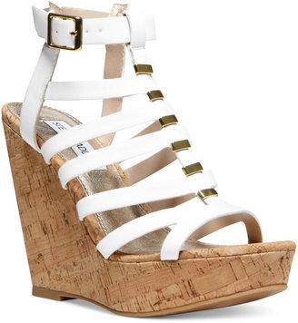 Steve Madden Women's Indyanna Platform Wedge Sandals
