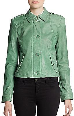 Rachel Zoe Celia Leather Jacket