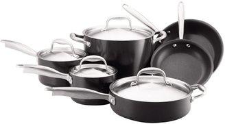 Anolon Nonstick Dishwasher-Safe Titanium 10-pc Cookware Set