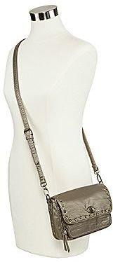 Arizona Studded-Flap Crossbody Bag