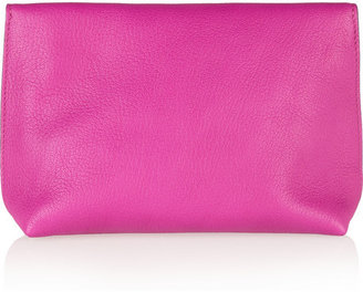 Mulberry Textured-leather cosmetics case