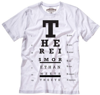 Arquebus Clothing Meets The Eye Tee Women's