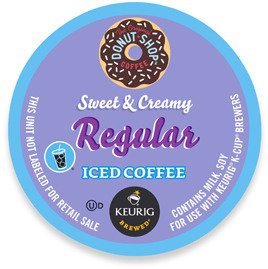 Keurig K-Cup® Donut Shop Sweet & Creamy Regular Iced Coffee for Brewers - 16 Count