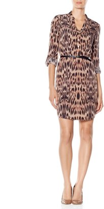 The Limited Leopard Print Shirtdress