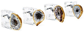 O & Co. S/4 Napkin Rings w/ Oco