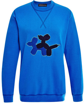 Ostwald Helgason Puppy Love Sweatshirt Blue