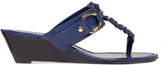 Lauren Ralph Lauren Lauren by Ralph Lauren Shoes, Ladeen Mid-Wedge Thong Sandals