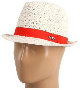 Roxy Summer Spell Fedora Hat (Sea Salt) - Hats
