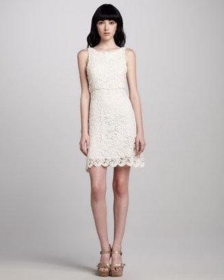 Alice + Olivia Ingrid Crochet Dress