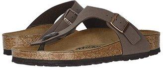 Birkenstock Gizeh Birkibuctm (Mocha Birkibuctm) Women's Shoes