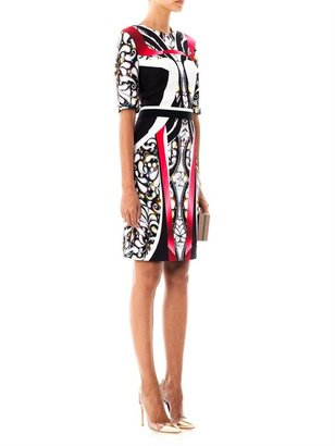 Peter Pilotto Eva panelled-print dress