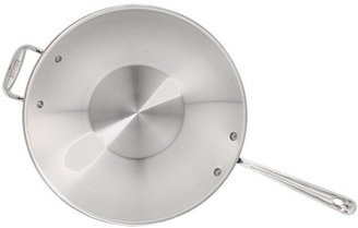"""All-Clad Stainless Steel 14"""" Open Stir Fry"""