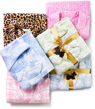 Charter Club Pajamas, Cotton Candy Fleece Top and Pajama Pants Set