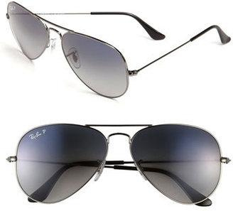Ray-Ban 'Original Aviator' 58mm Polarized Sunglasses $200 thestylecure.com