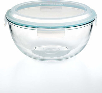 Martha Stewart Collection 4.2 Qt. Covered Glass Bowl