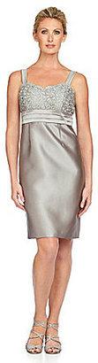 R & M Richards Lace & Satin Jacket Dress