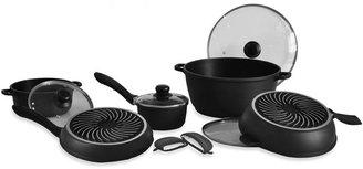 Sharper Image 10-Piece Aluminum Cookware Set