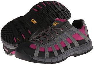 Caterpillar Switch Steel Toe (Black/Baton Rouge) Women's Industrial Shoes