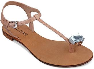 GUESS Women's Raves Thong Sandals