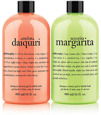 philosophy Online Only Shower Gel Summer Drinks Duo
