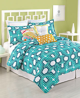 "Trina Turk CLOSEOUT! Bedding, Ogee Wave Oblong 20"" x 12"" Decorative Pillow"