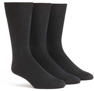 Men's Calvin Klein 3-Pack Microfiber Socks $22 thestylecure.com