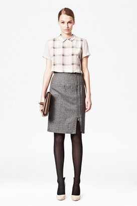 French Connection Pepper Tweed Skirt