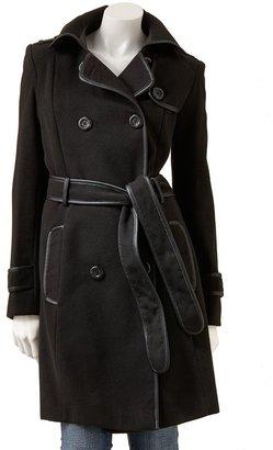 Apt. 9 solid coat - women's