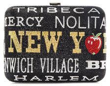 Judith Leiber Couture New York, New York Slim Rectangle Clutch Bag, Jet Multi