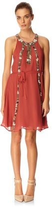 French Connection Rebecca Beads Dress