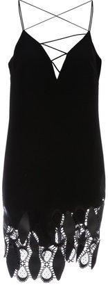 Versace silk cocktail dress