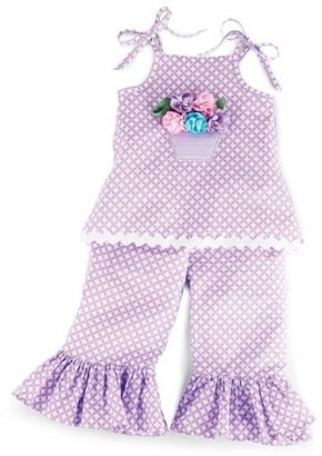Mud Pie Baby Buds Tunic And Flare Pant Set