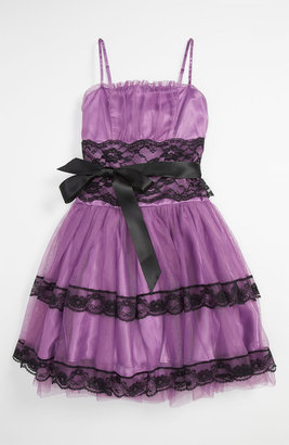 Jessica McClintock 'Lucy' Dress (Big Girls)
