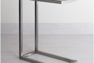Crate & Barrel Era Stainless Steel C Table